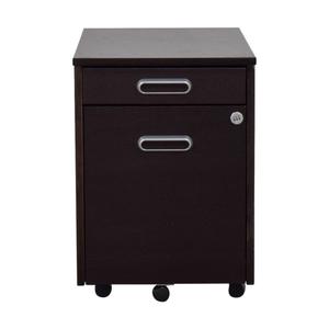 IKEA IKEA Grey Four-Drawer File Cabinet