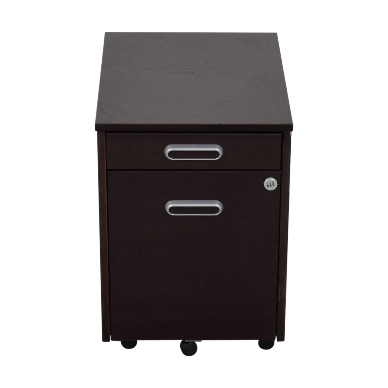IKEA IKEA Grey Four-Drawer File Cabinet Sofas