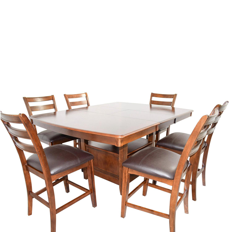 84 Off Bob S Furniture Bob S Furniture Counter Height Dining Set