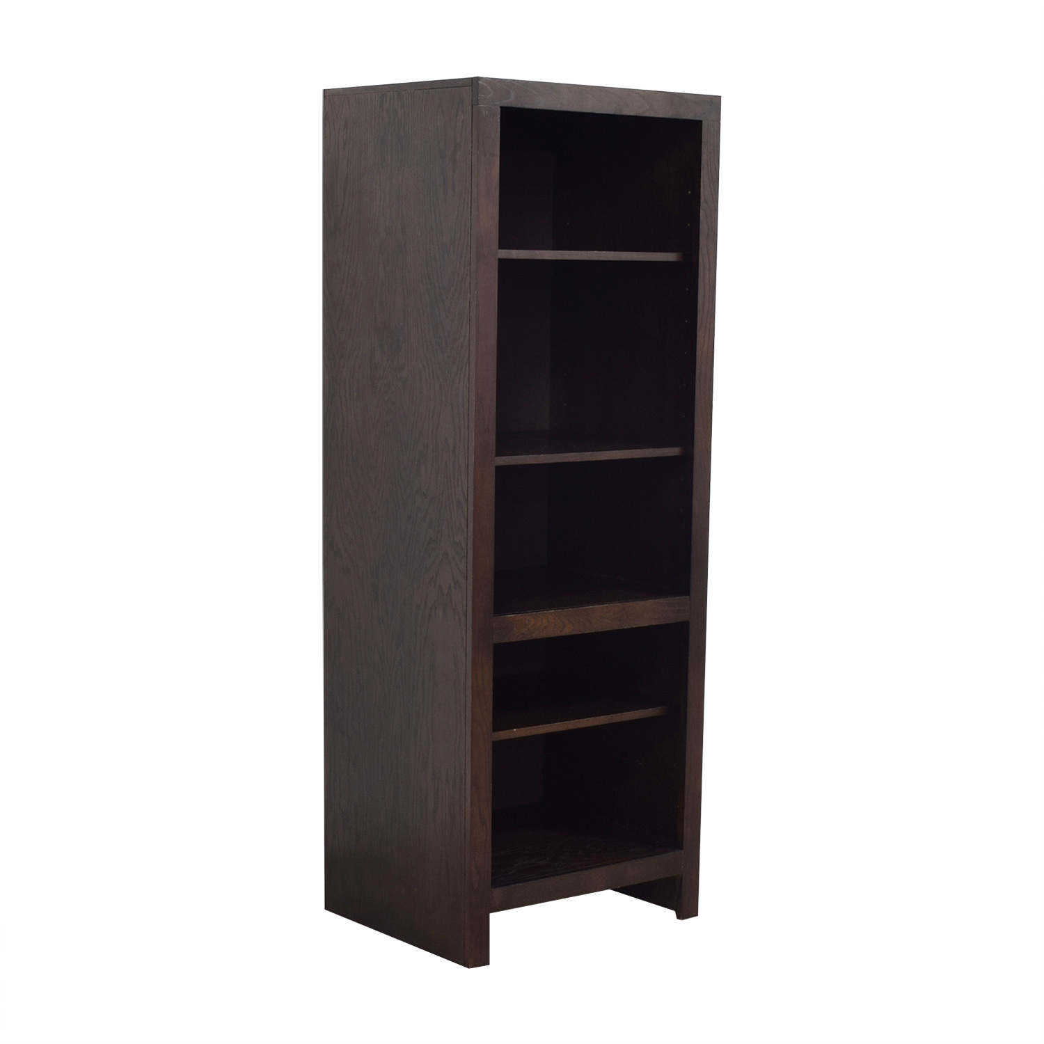 shop Golden Oak Del Mar Media Tower or Bookcase Golden Oak Storage