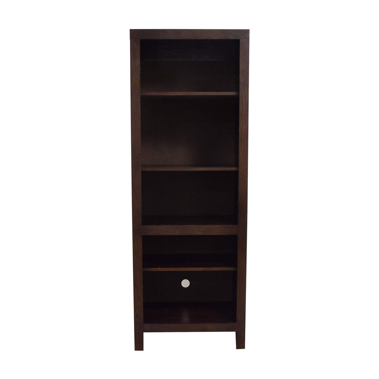 Golden Oak Golden Oak Del Mar Media Tower or Bookcase Bookcases & Shelving