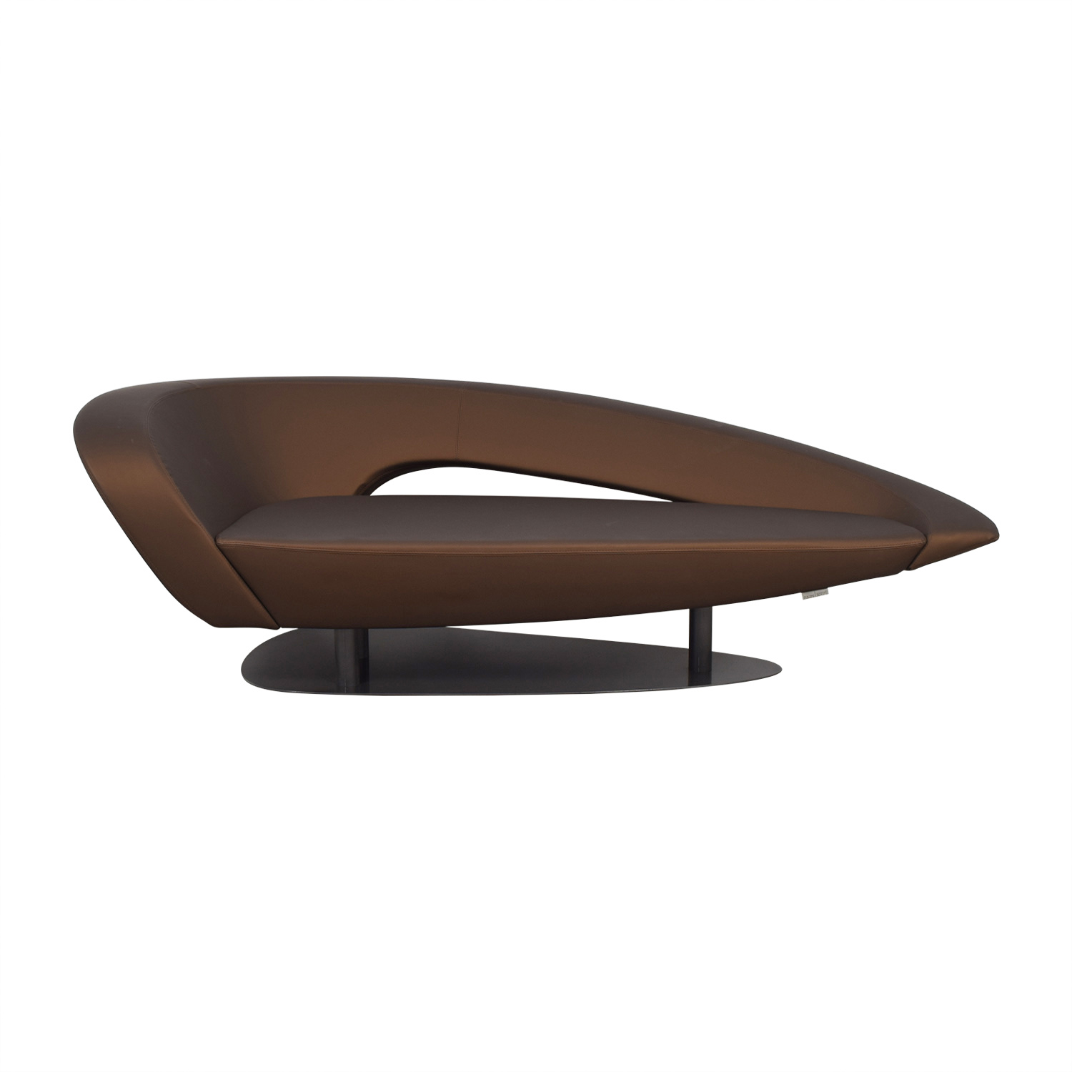 Roche Bobois Roche Bobois Brown Modern Loveseat used