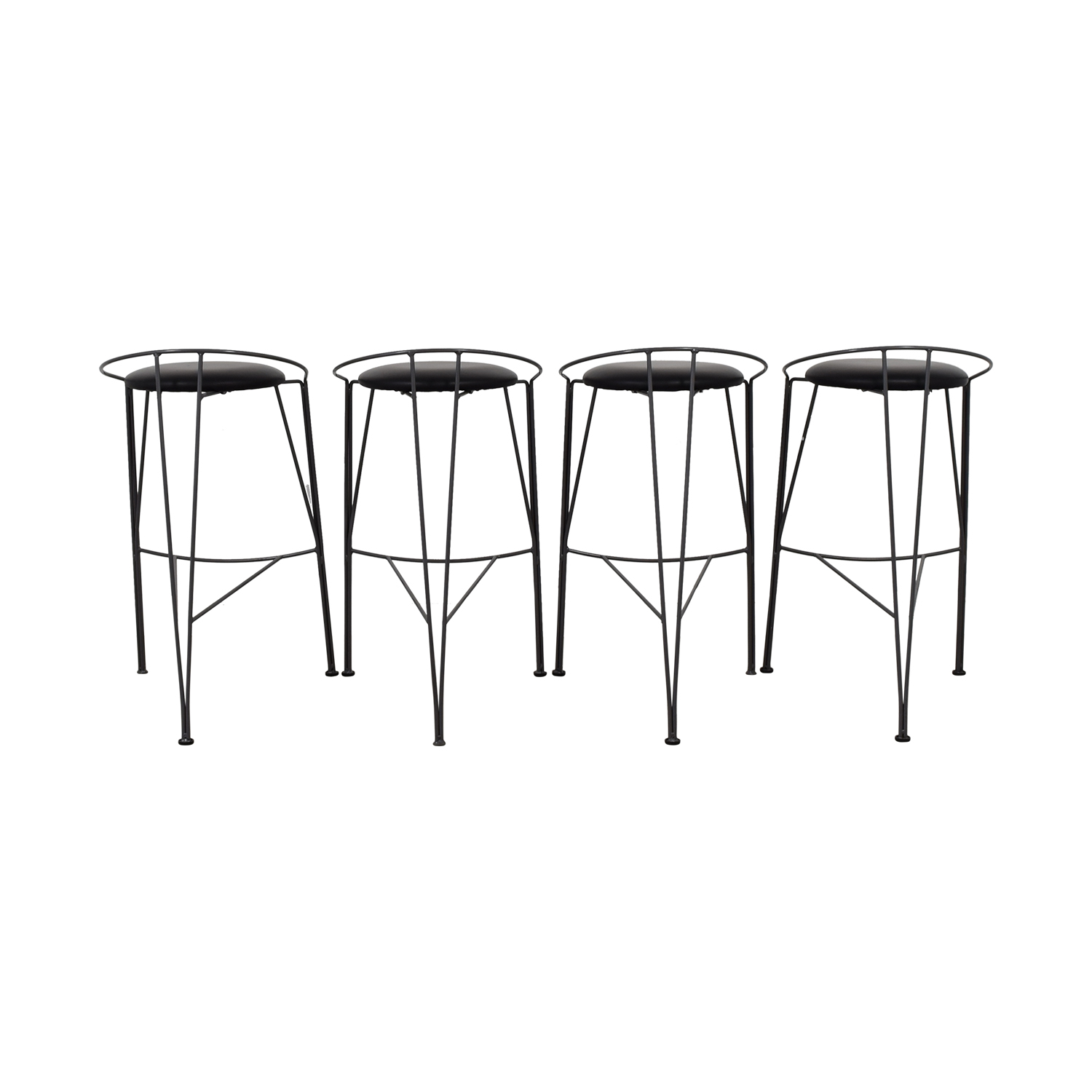 black stools height p bar industrial stool adjustable home collection decorators mansard
