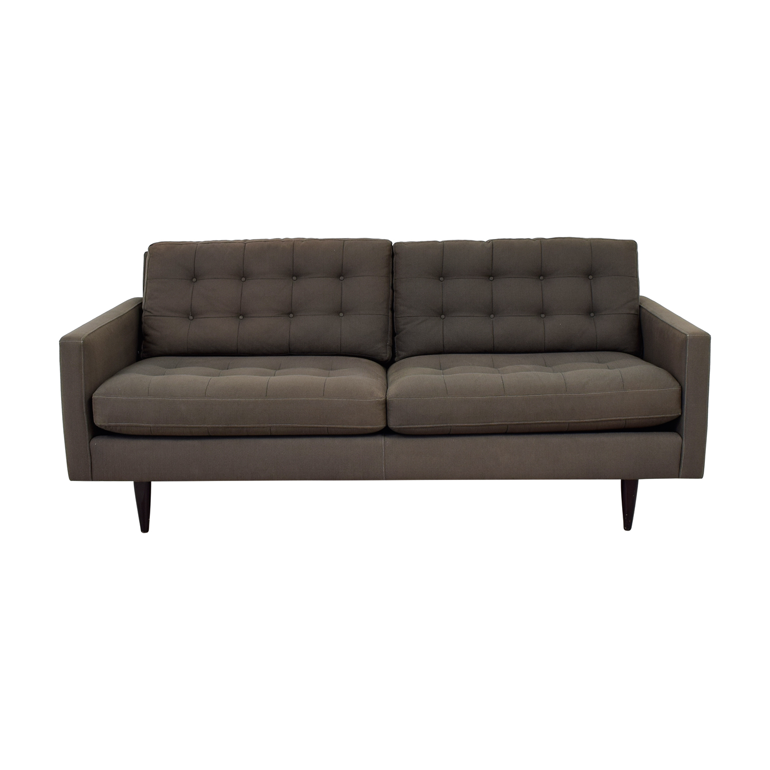 Buy Crate U0026 Barrel Crate U0026 Barrel Petrie Midcentury Apartment Sofa ...