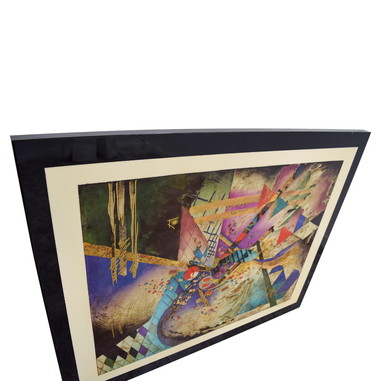 Robert Kostuck Robert Kostuck Mixed Emotions Signed Framed Painting second hand