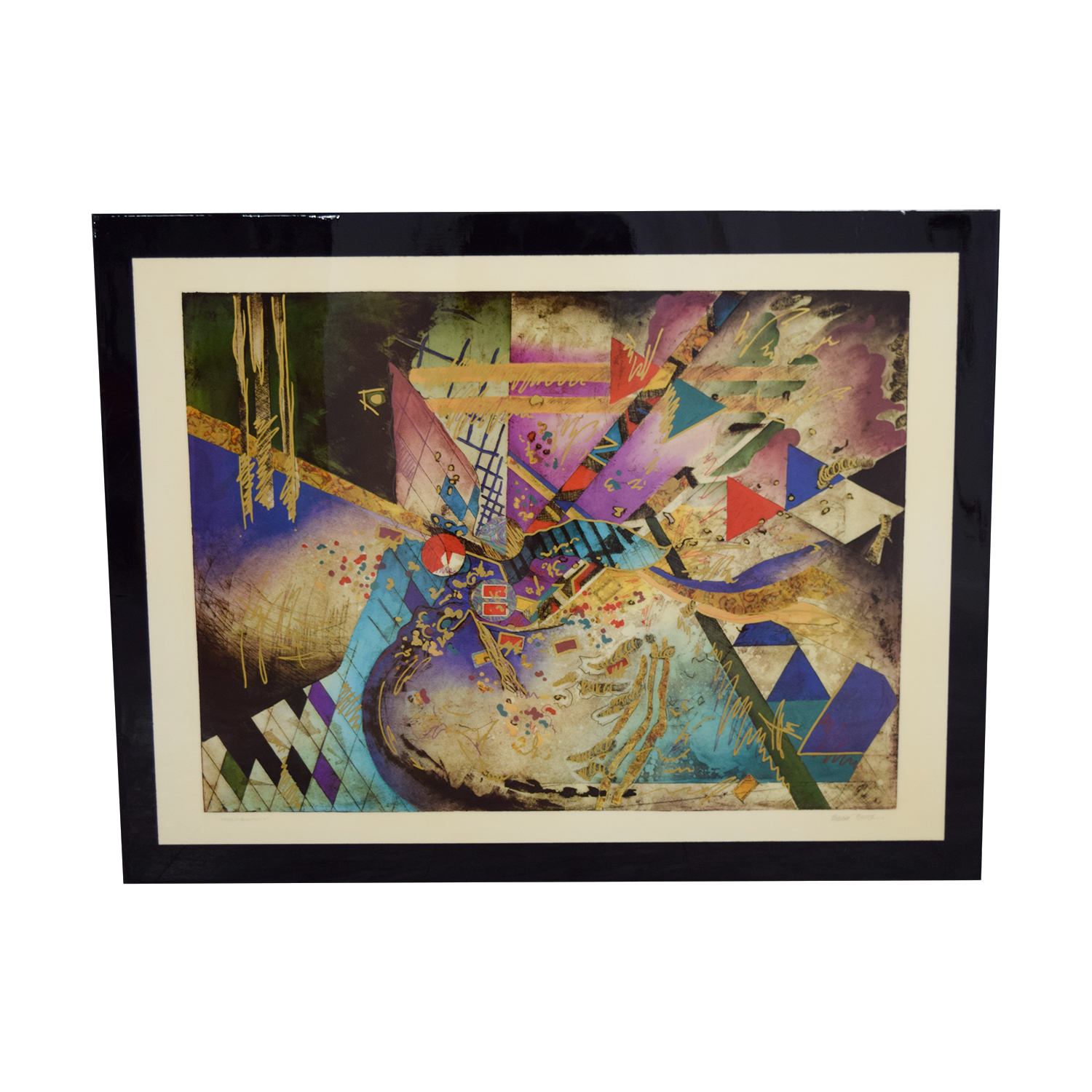 Robert Kostuck Robert Kostuck Mixed Emotions Signed Framed Painting