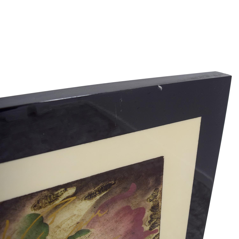 Robert Kostuck Robert Kostuck Mixed Emotions Signed Framed Painting Decor
