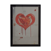 buy Lara Zombie Lara Zombie Love Birds Aluminum Framed Artwork online