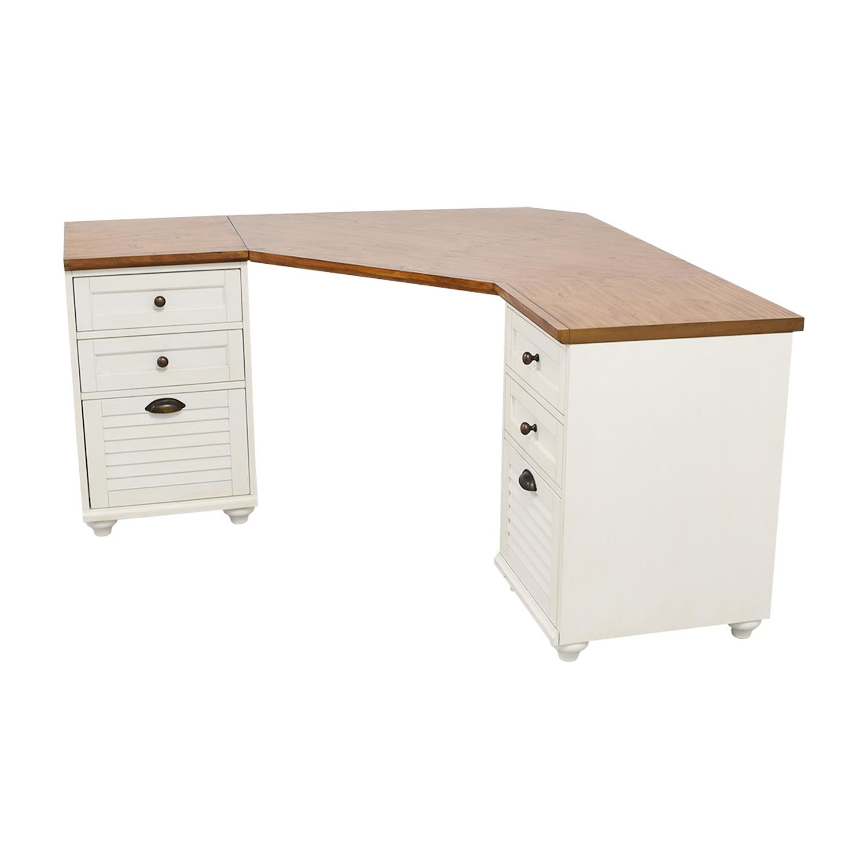 Pottery Barn Whitney Corner Desk Home Office Desks