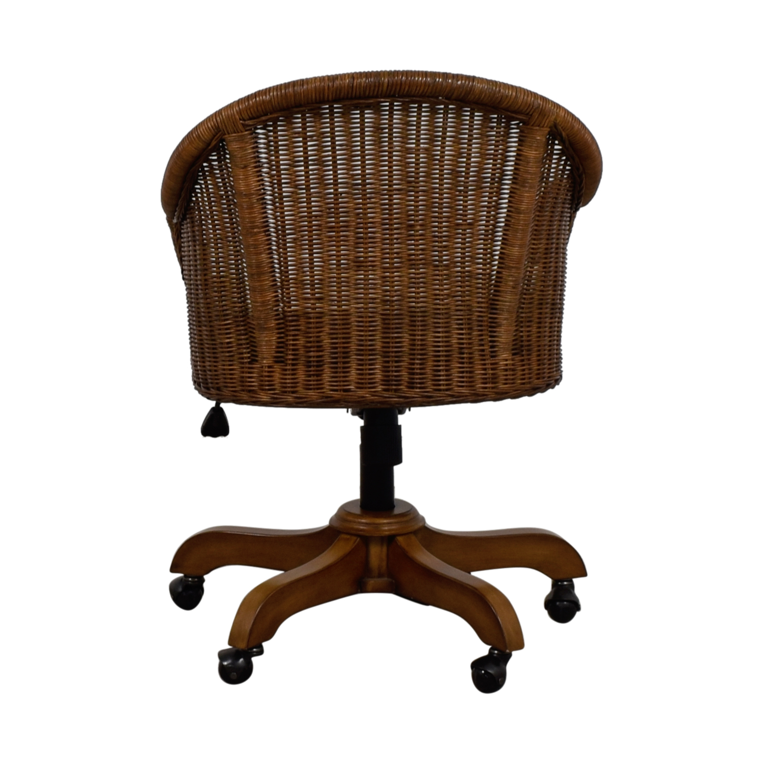 Pottery Barn Wingate Wicker Desk Chair Accent Chairs