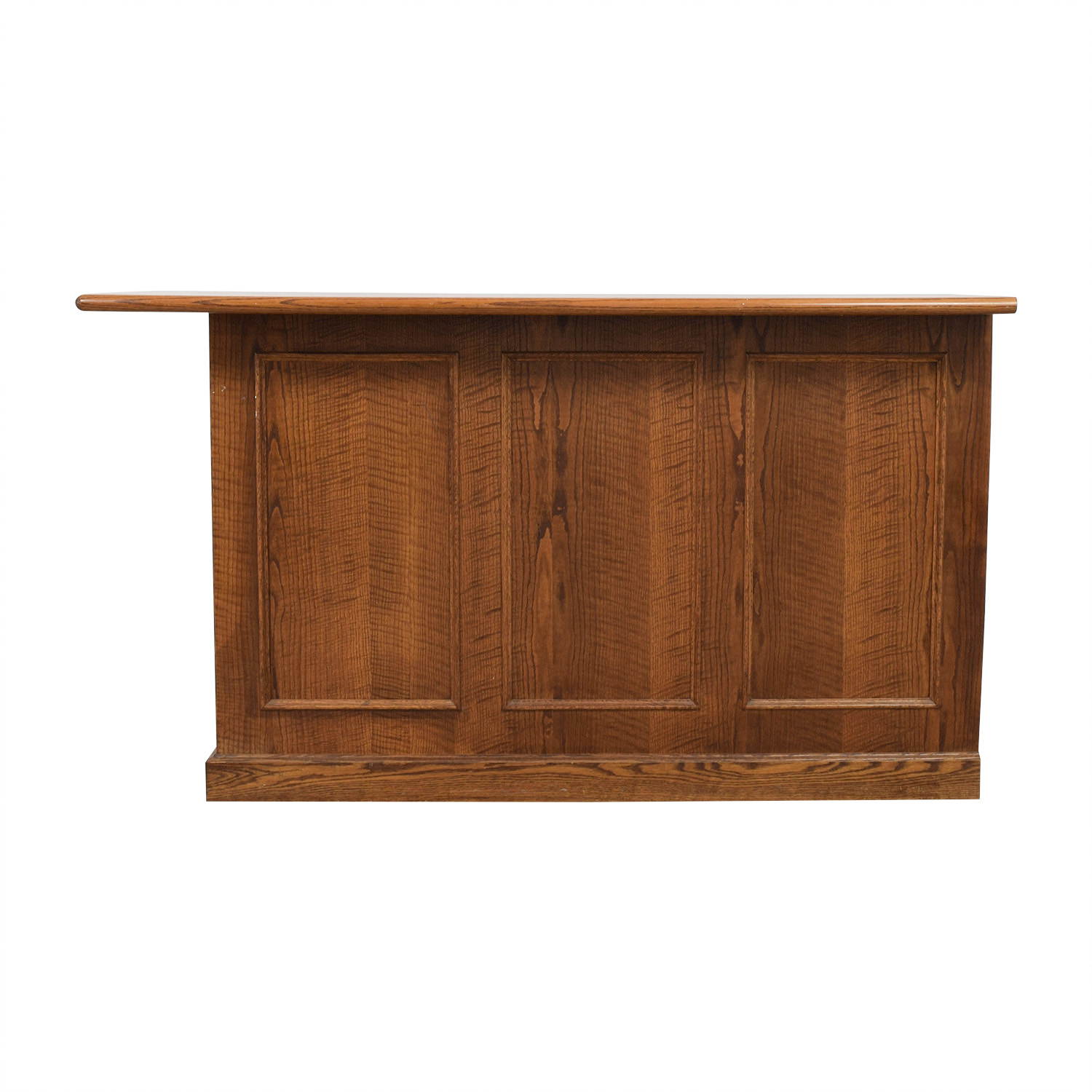 Wood Bar with Storage Cabinets & Sideboards