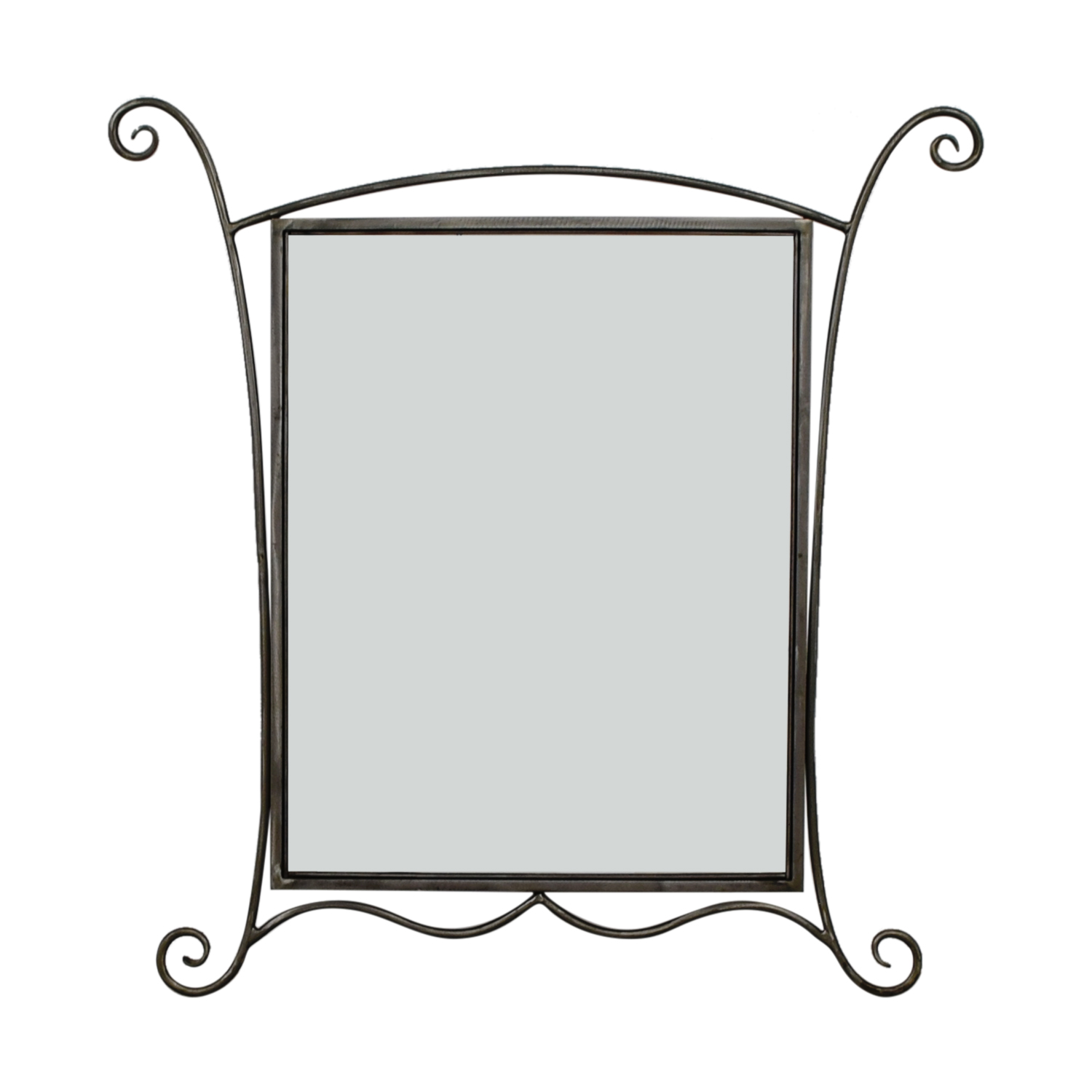 Silver Framed Mirror on sale