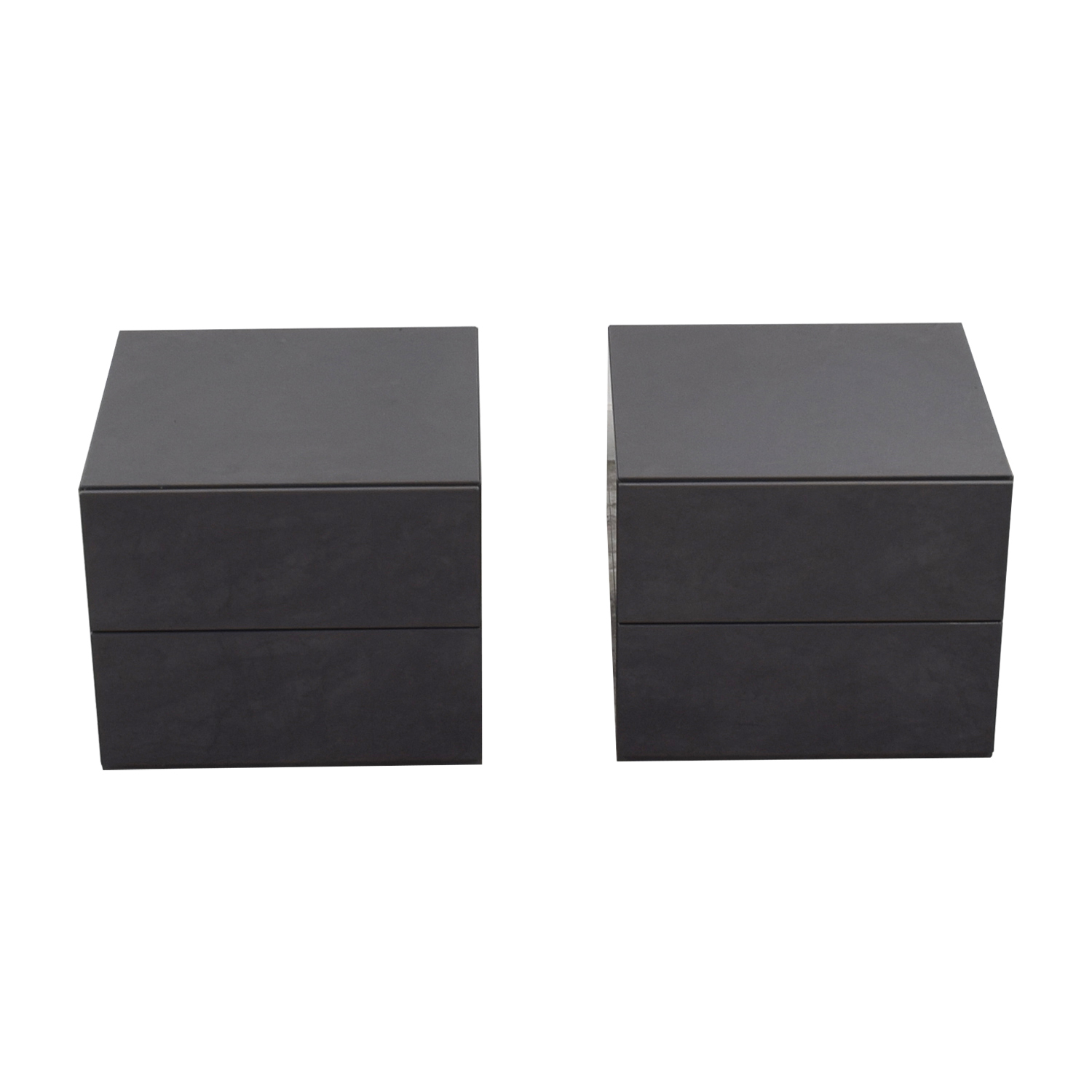 Design Within Reach Design Within Reach Brix Two-Drawer End Tables nj