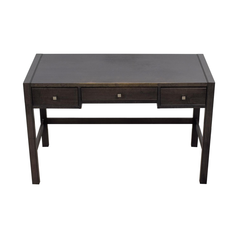 Baronet Baronet Canada Three-Drawer Wood Desk nj
