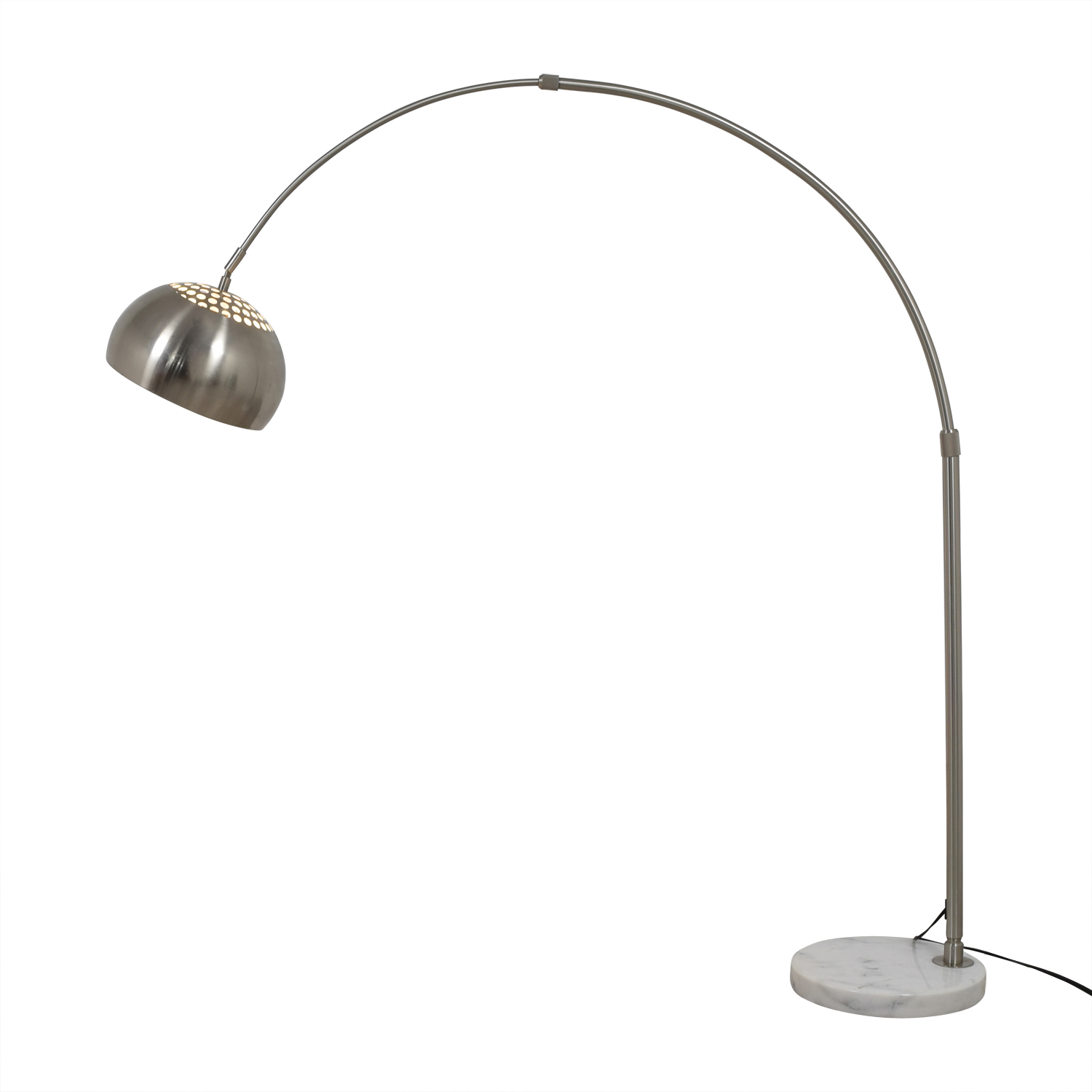 shop  Marble Base and Chrome Floor Lamp online