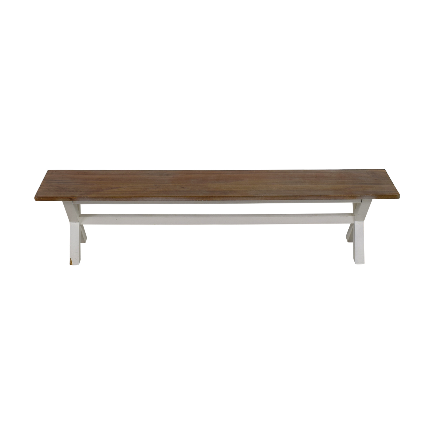 Heavy Artisan Wood Bench Benches