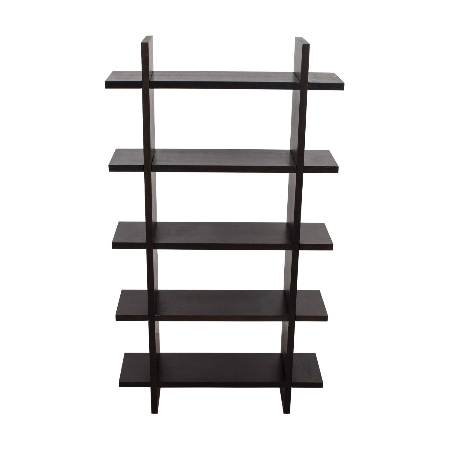 Crate & Barrel Crate & Barrel Black Wood Bookshelf nj