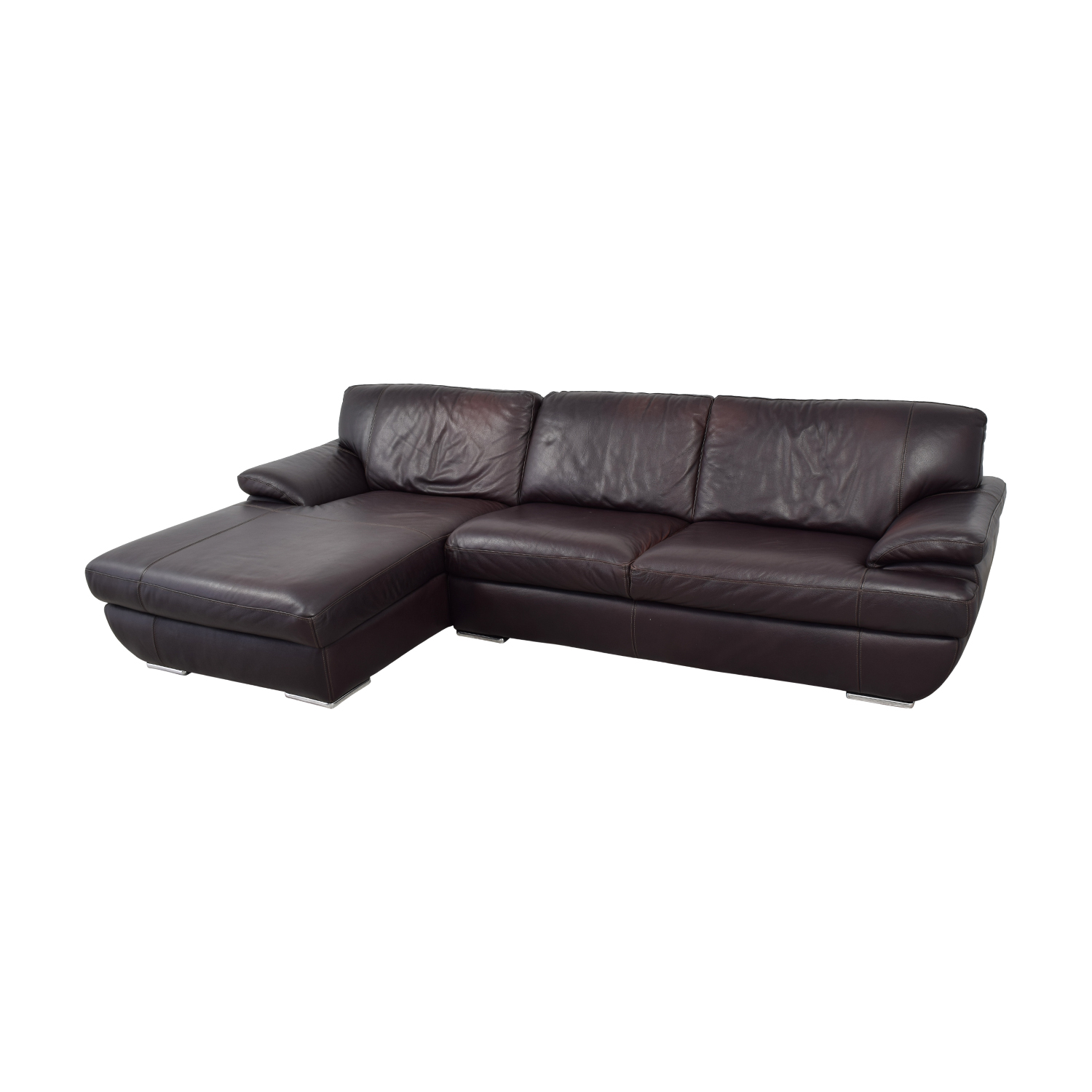 Chateau D'Ax Chateau D'Ax Brown Leather Left