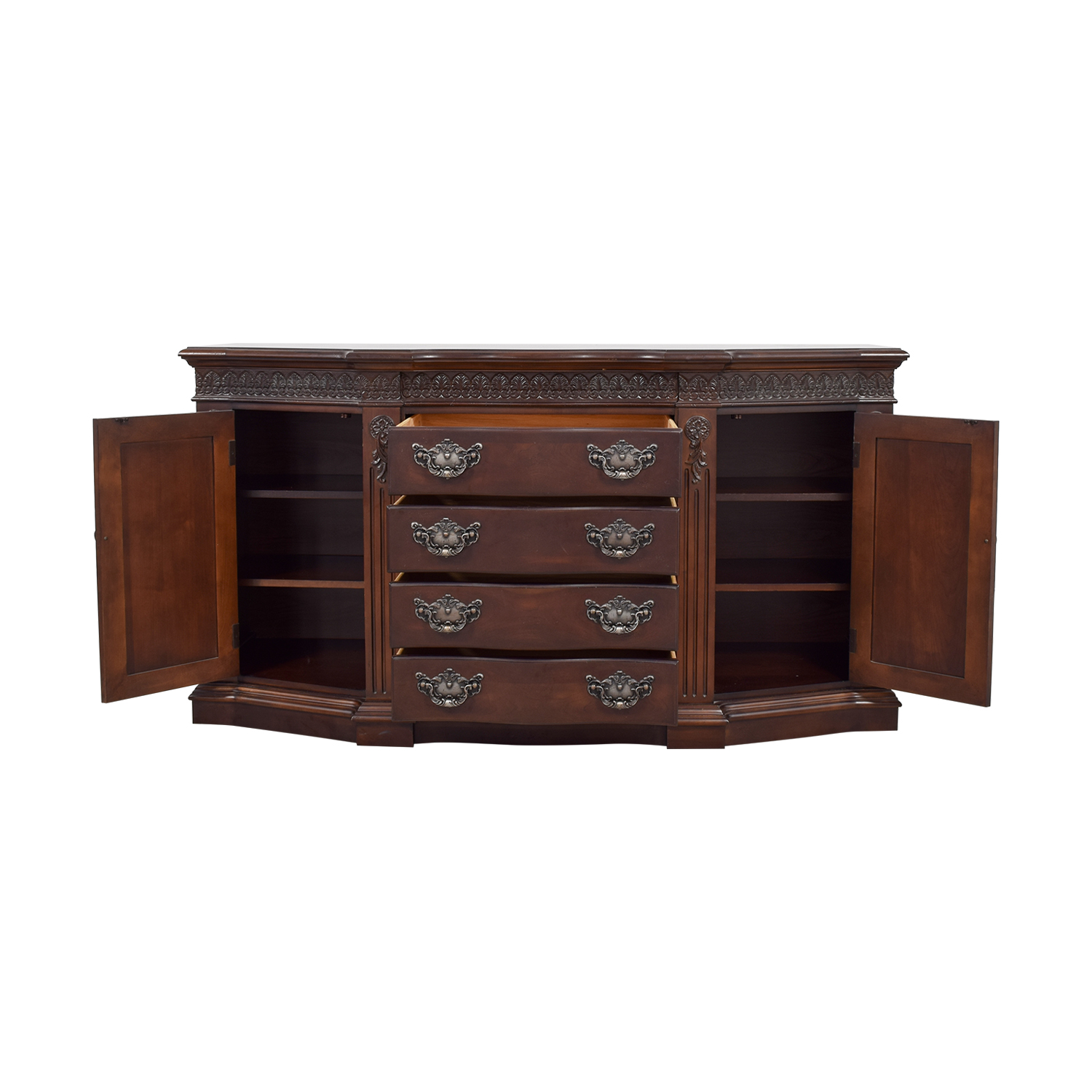 Bernhardt Bernhardt Four-Drawer Wood Buffet used