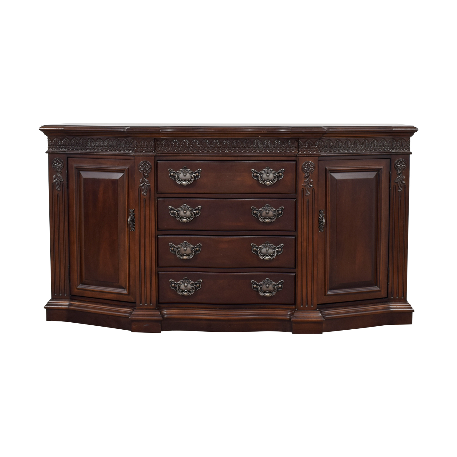 buy Bernhardt Four-Drawer Wood Buffet Bernhardt