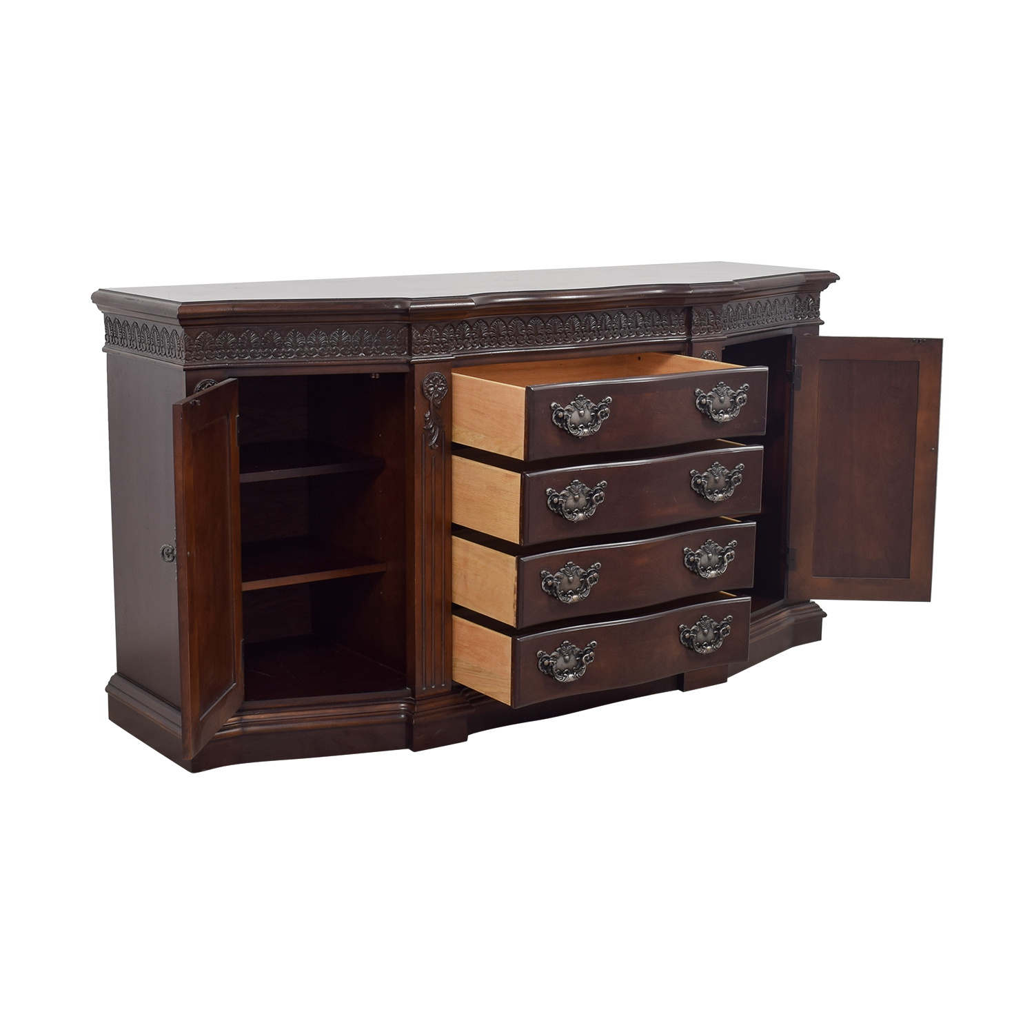 Bernhardt Bernhardt Four Drawer Wood Buffet coupon