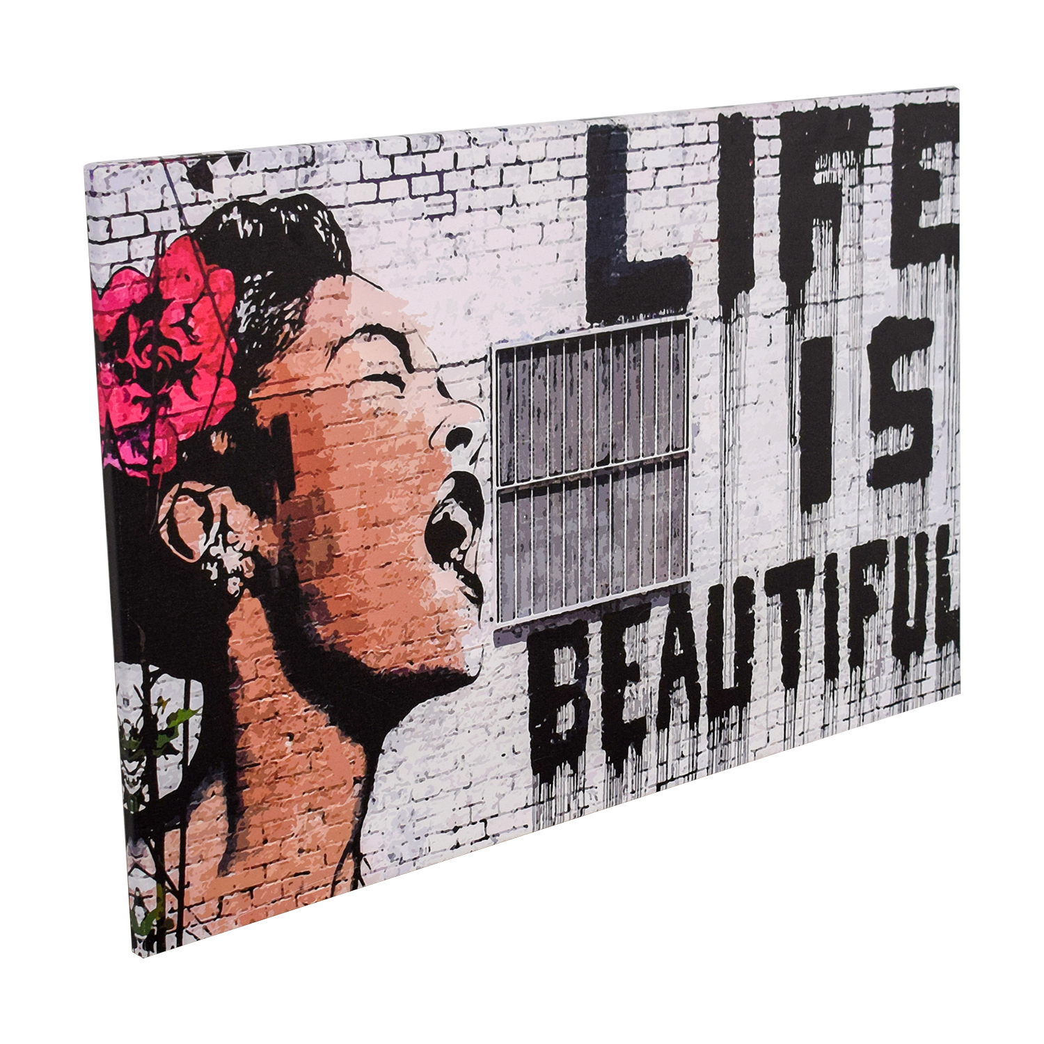 buy Banksy Like Is Beautiful Print