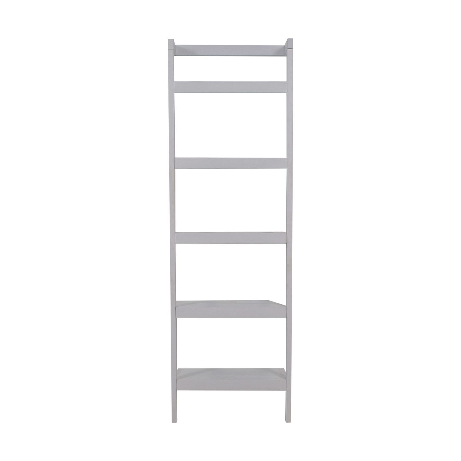 buy Crate & Barrel Sawyer White Bookcase Crate & Barrel Bookcases & Shelving
