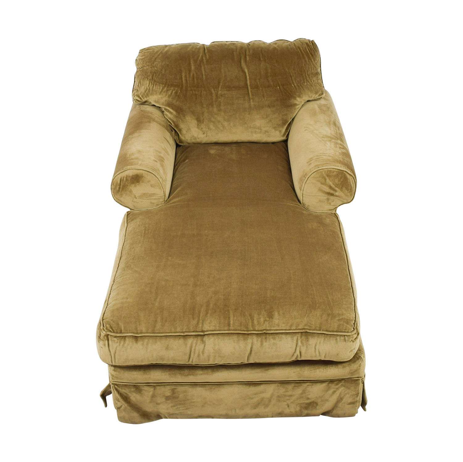 shop Einstein Moomjy Tan Chaise Einstein Moomjy Chaises