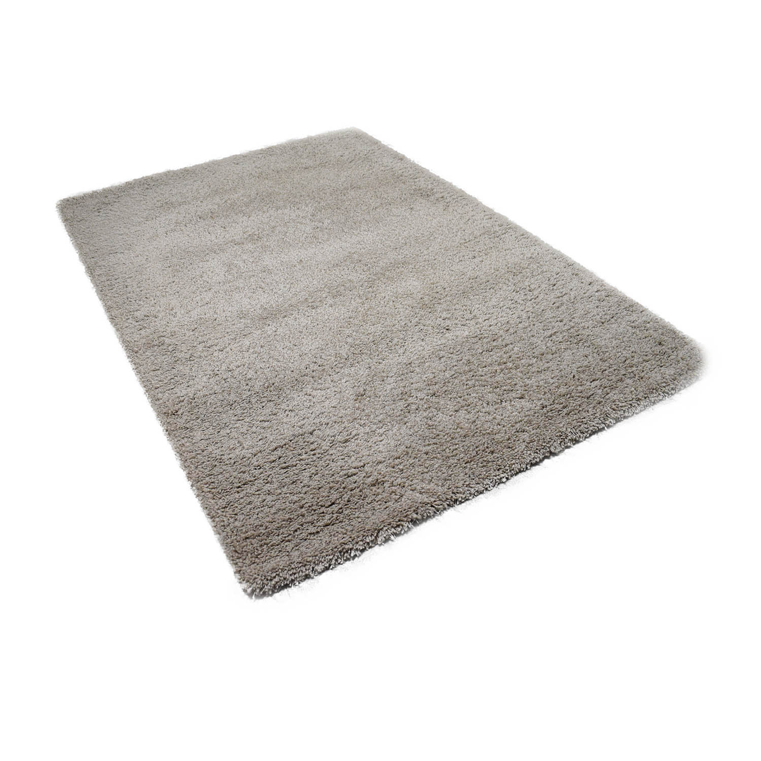 Crate & Barrel Crate & Barrel Grey Shag Rug Rugs