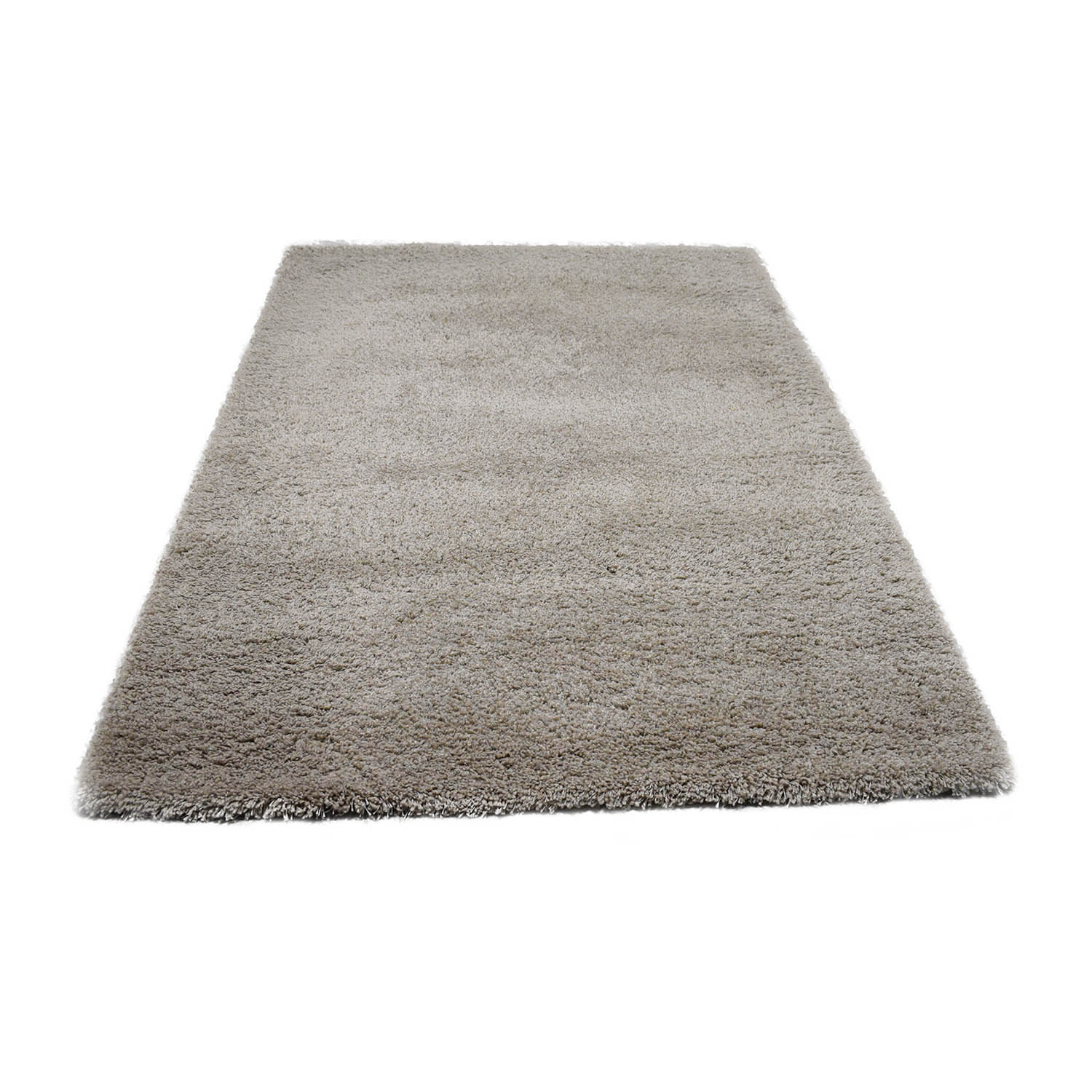 Crate & Barrel Crate & Barrel Grey Shag Rug discount