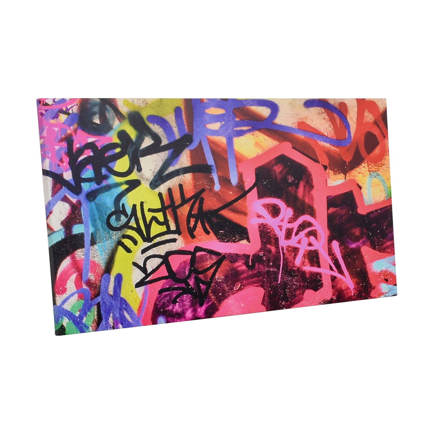 buy Graffiti Wall Art Print On Canvas  Decor