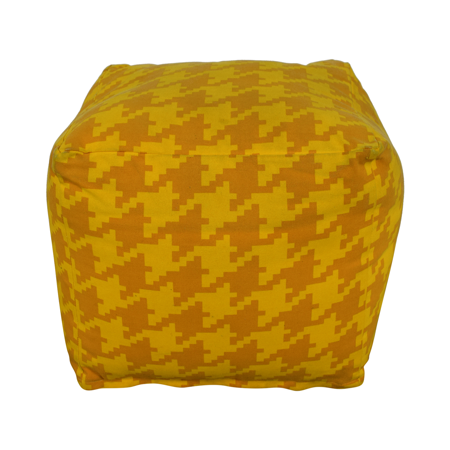 Surya Surya Playhouse Sunflower Houndstooth Pouf for sale