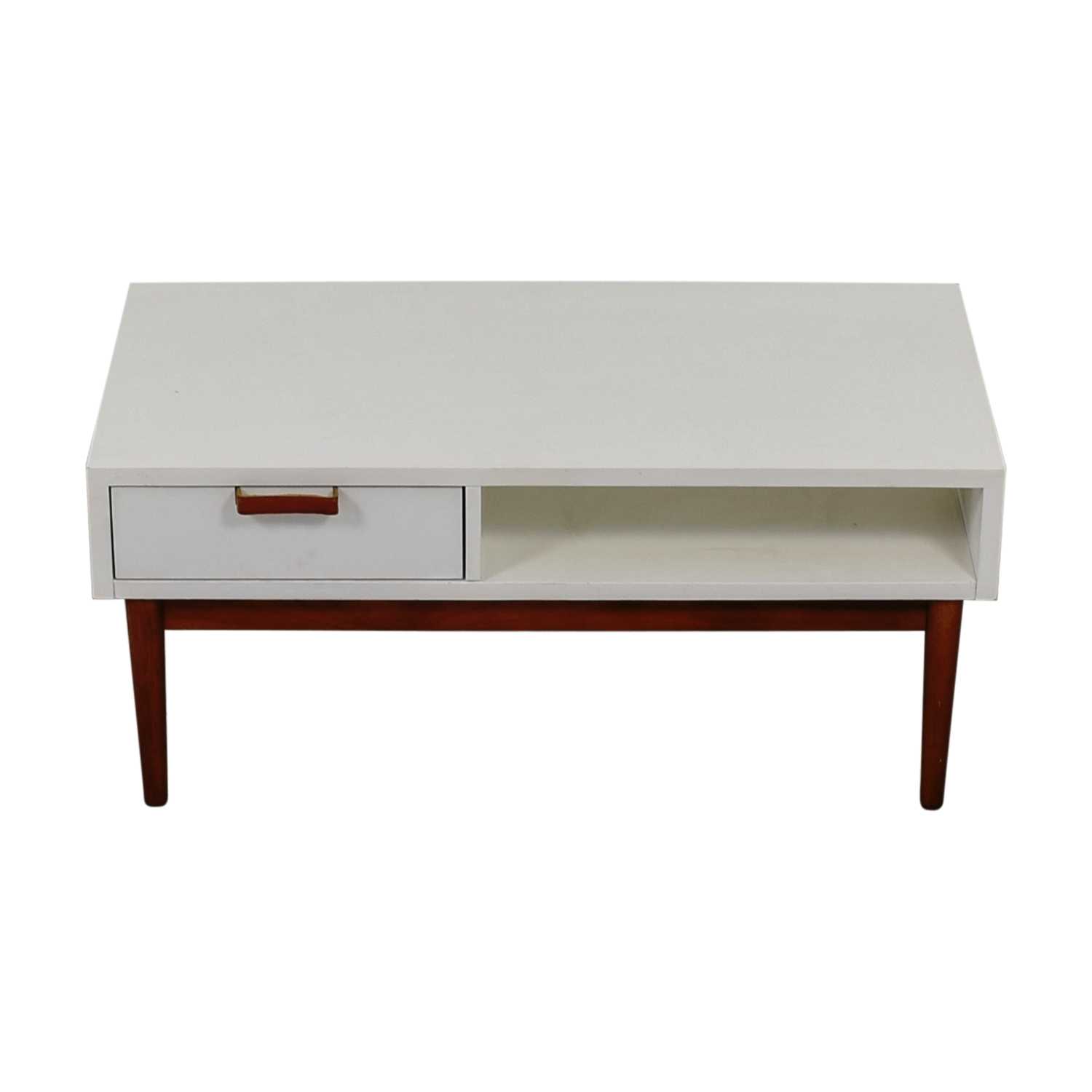 Salice Salice Mid Century White TV Stand coupon