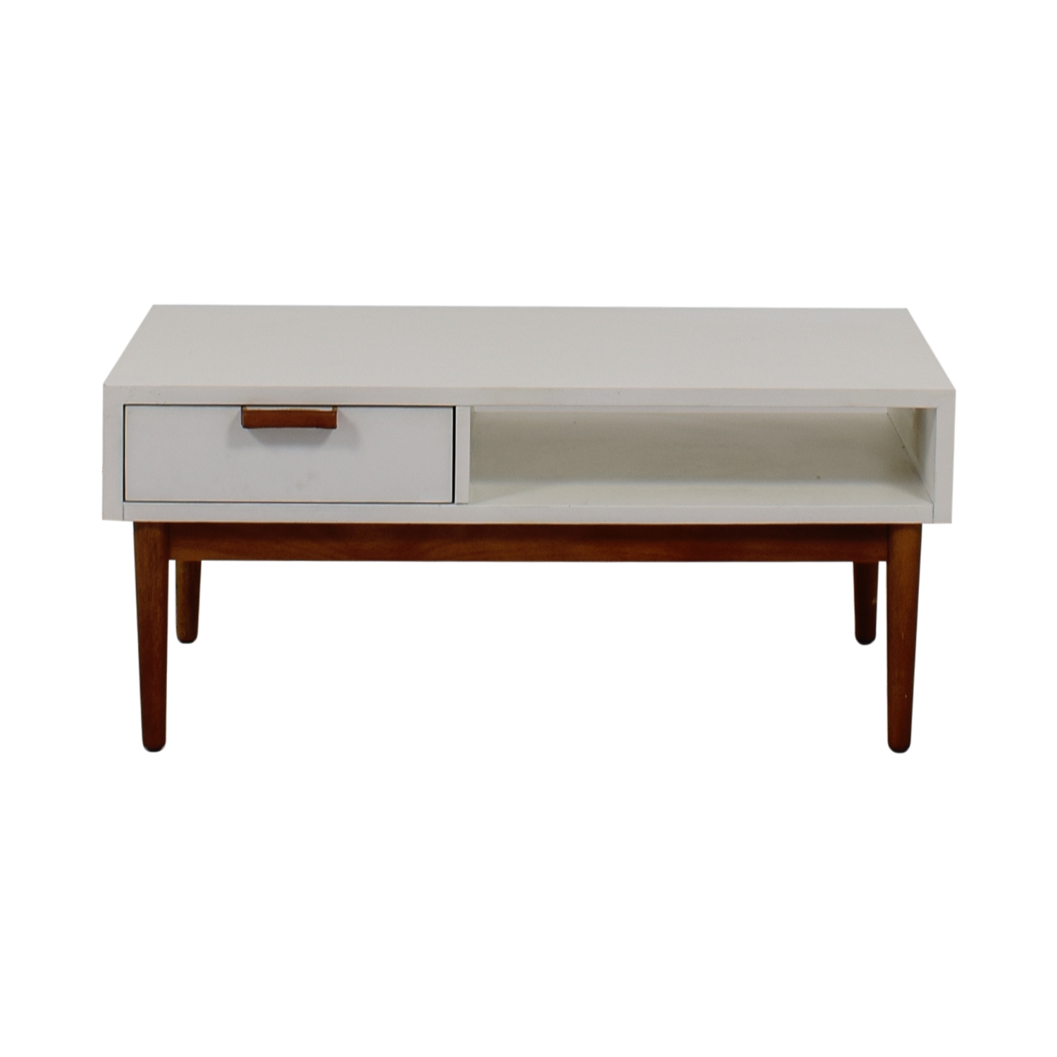 Salice Salice Mid Century White TV Stand on sale