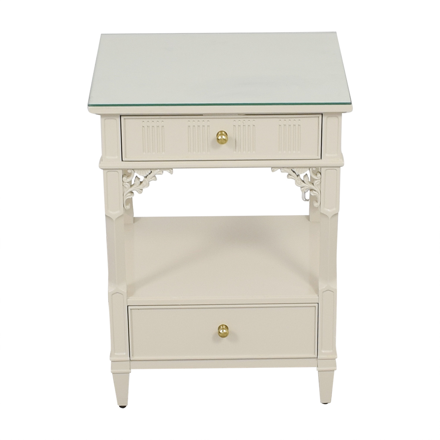 buy Stanley Furniture Off White Telephone Side Table Stanley Furniture Tables