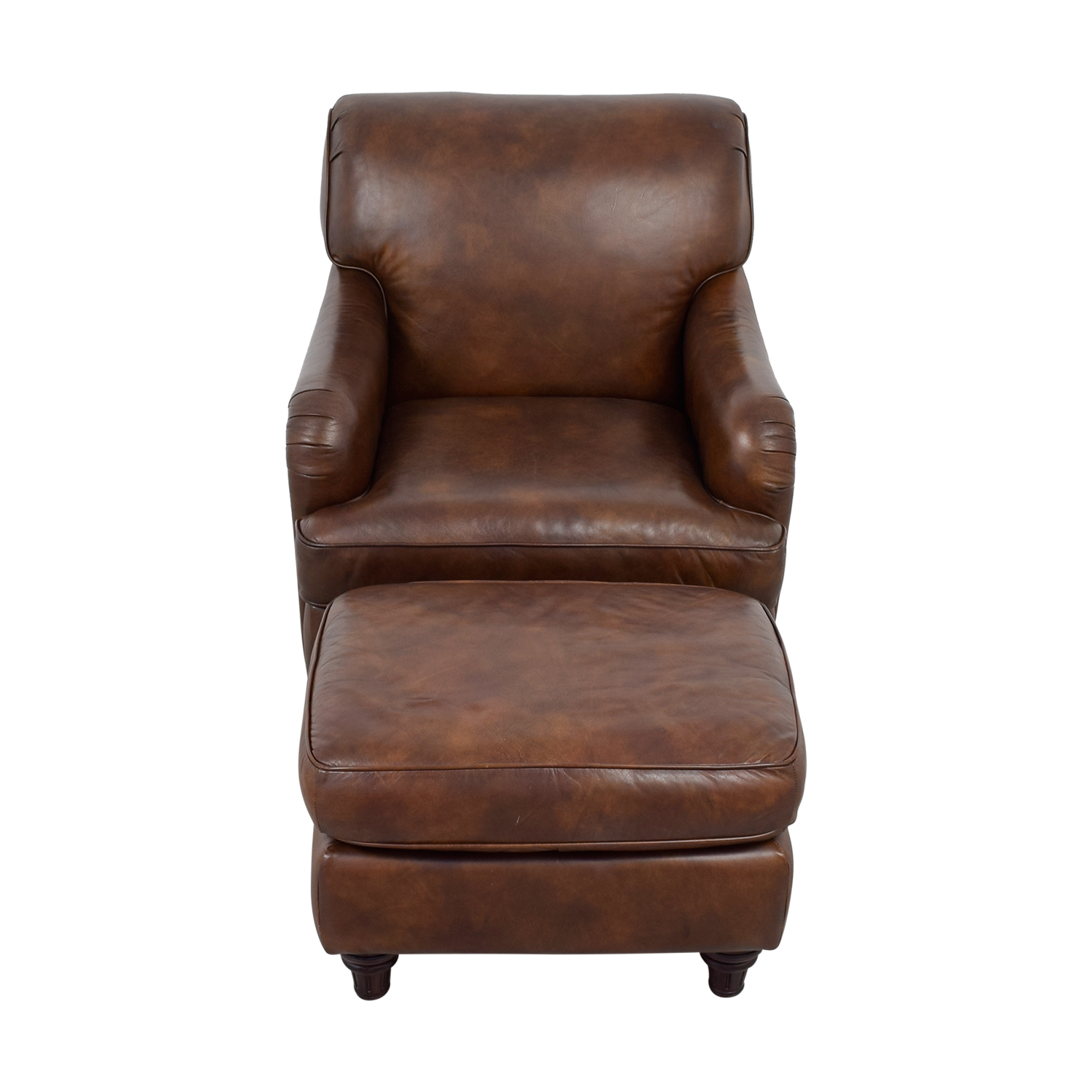 Swell 79 Off Lane Furniture Lane Leather Chair And Ottoman Chairs Pabps2019 Chair Design Images Pabps2019Com