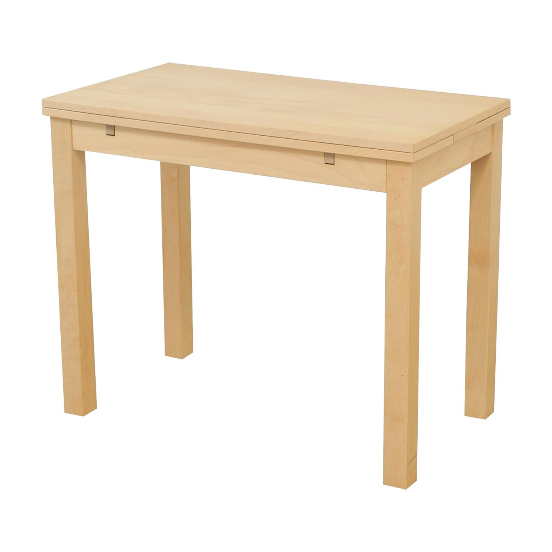 85% OFF - IKEA IKEA Bjursta Natural Kitchen Table / Tables