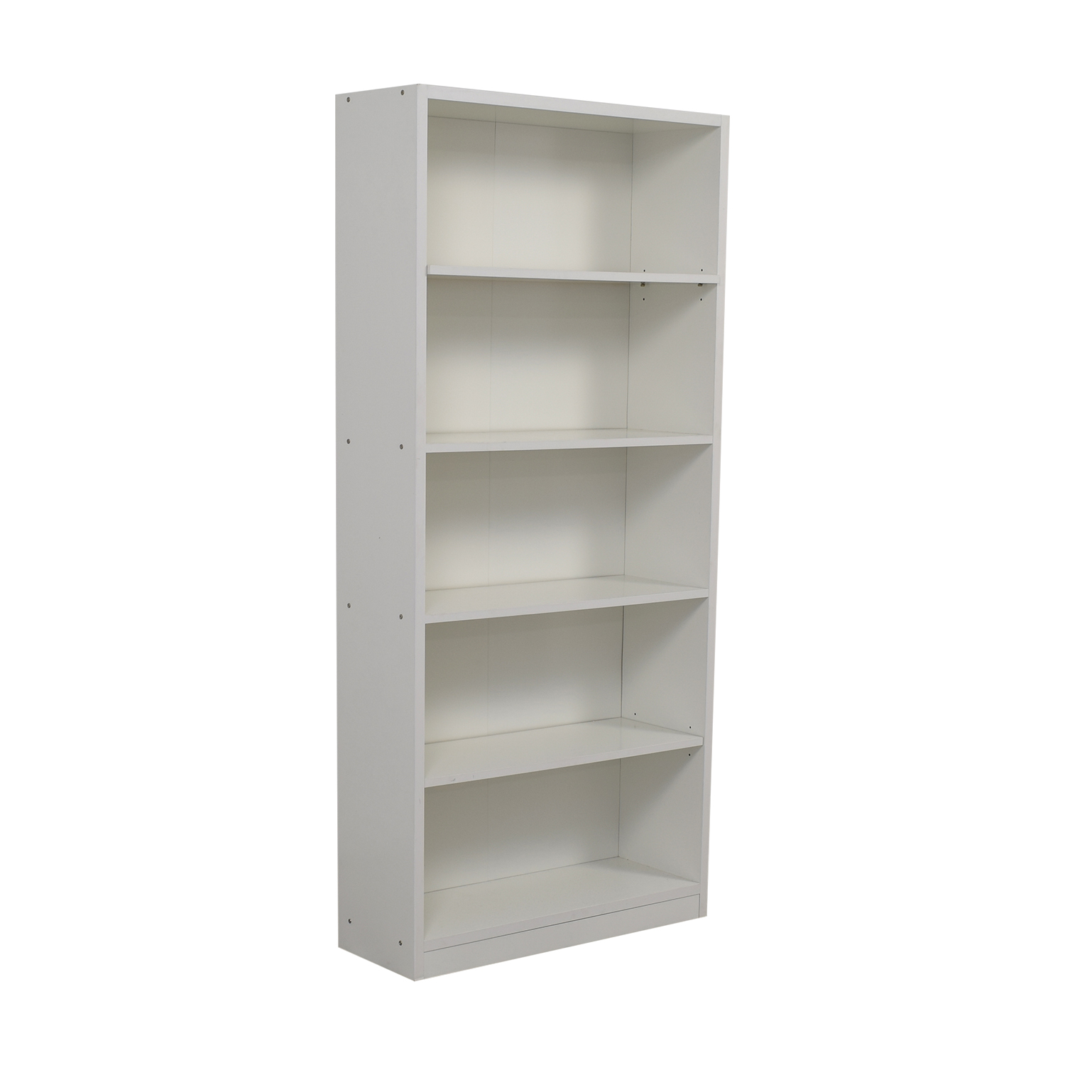 White Bookcase used
