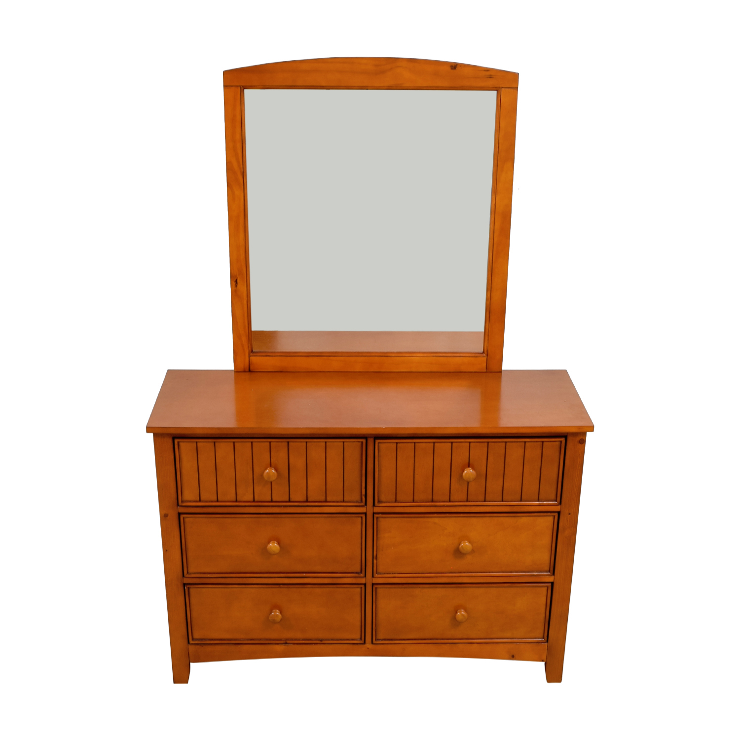 Classic Wooden Dresser with Mirror price