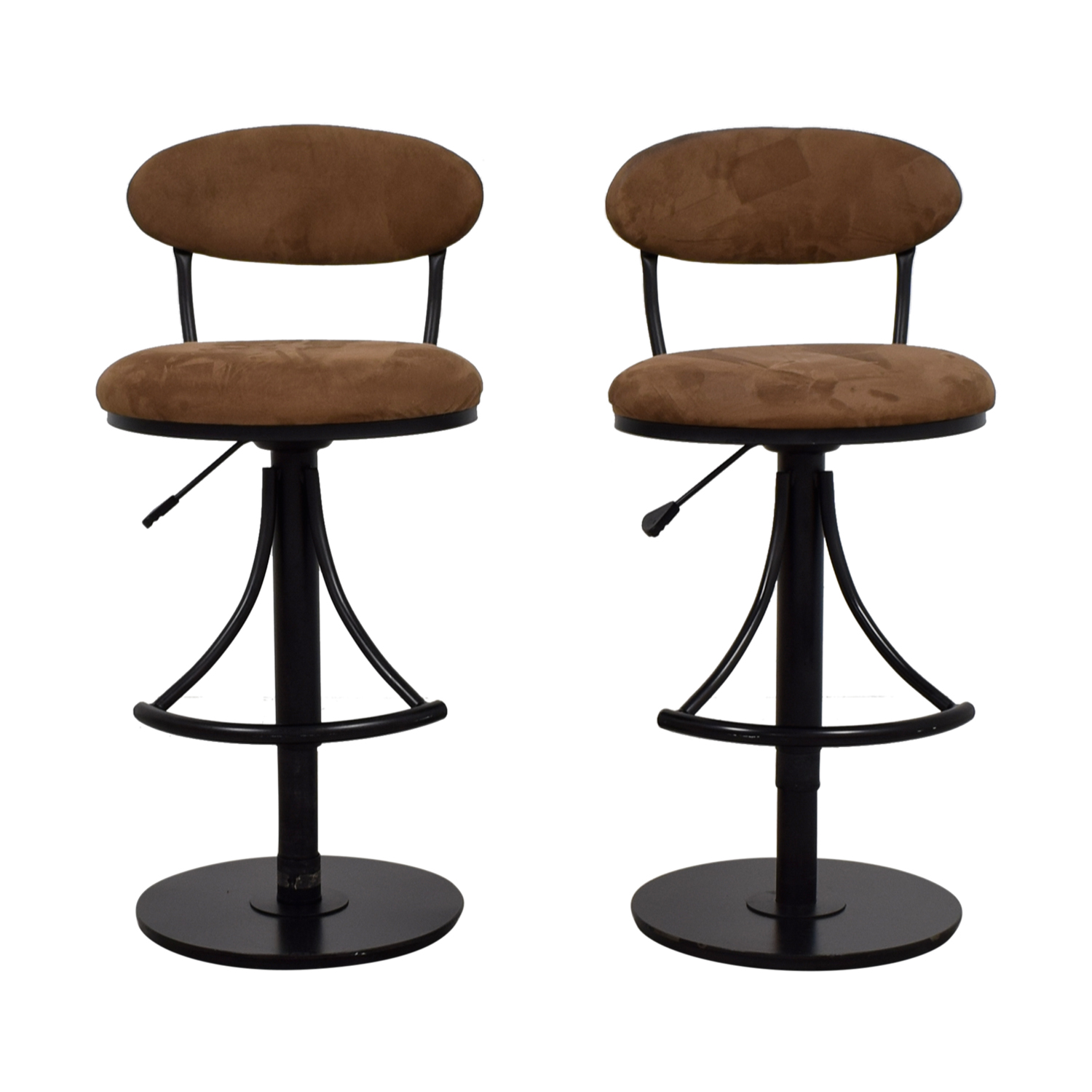 Raymour & Flanigan Raymour & Flanigan Tan Bar Stools nyc