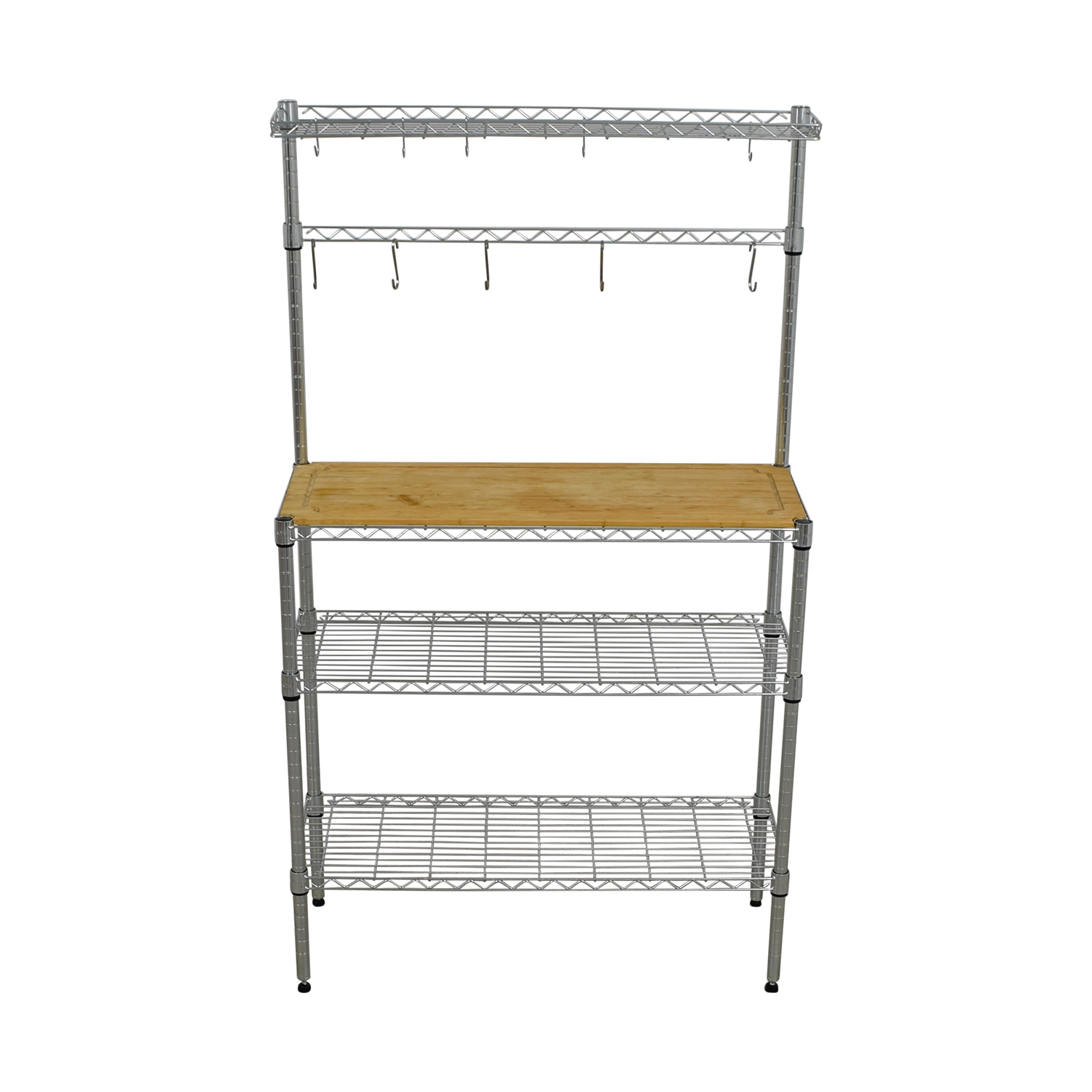 Metal and Wood Kitchen Rack sale