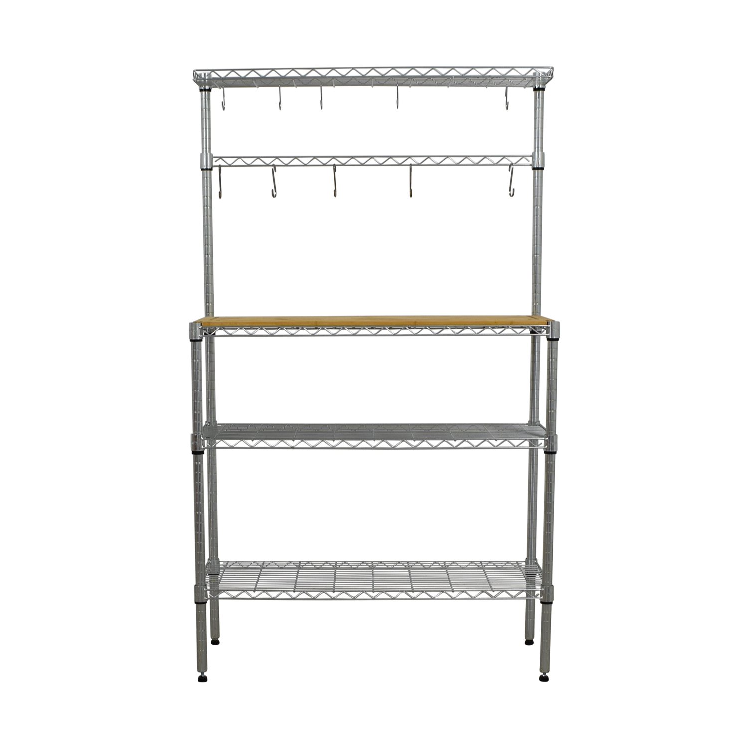buy Metal and Wood Kitchen Rack  Tables