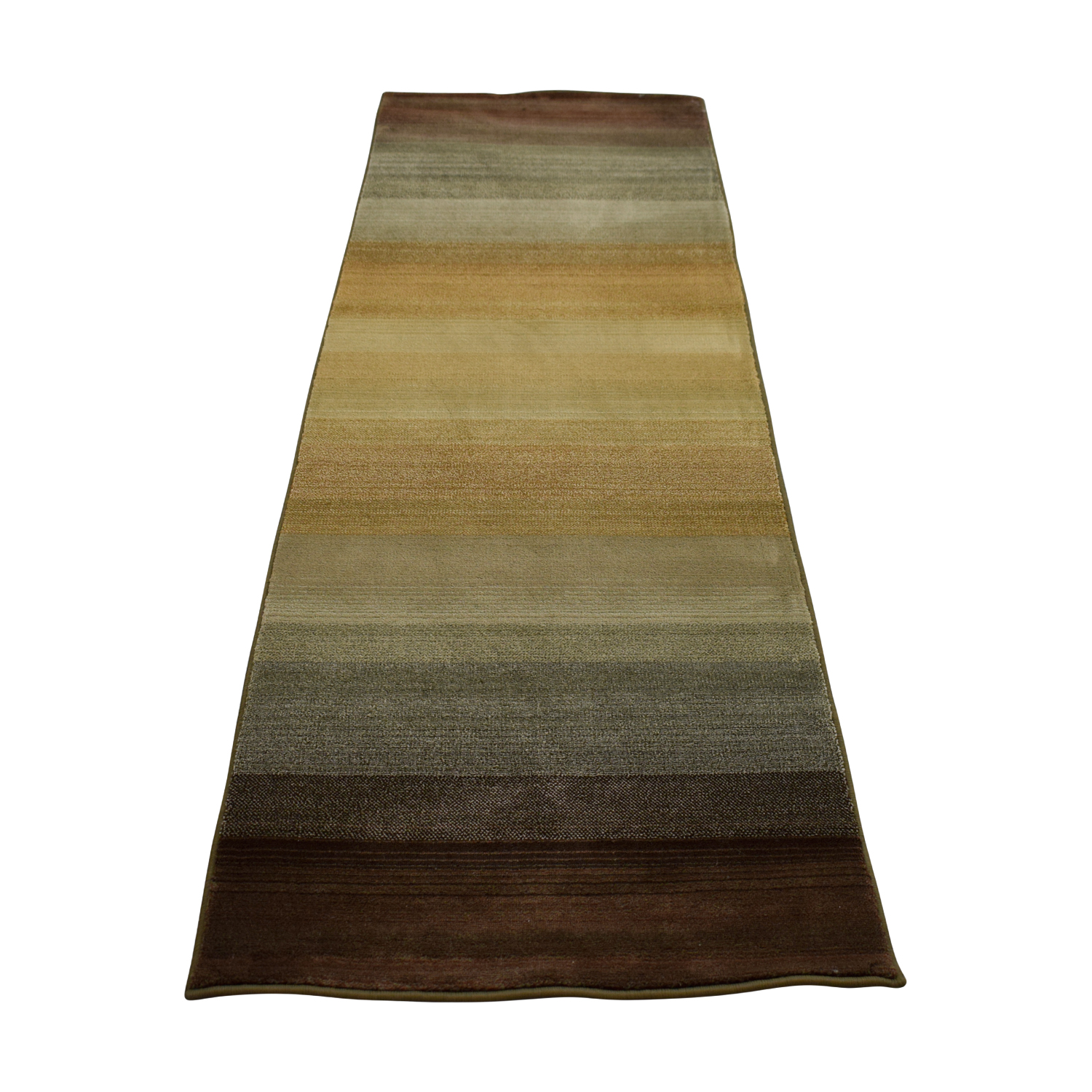 Macy's Macy's Multi-Colored Runner Rug dimensions