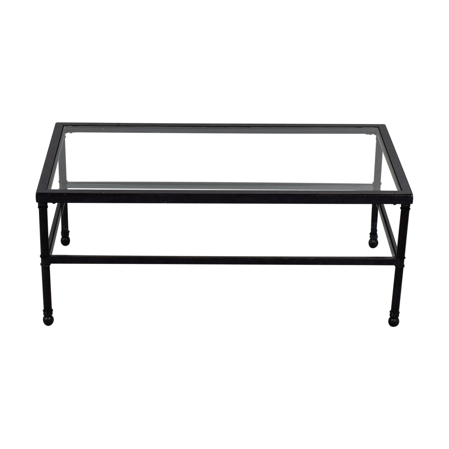 buy  Metal & Glass Coffee Table online