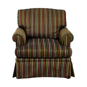 buy The Lane Company Pearson Stripe Chair The Lane Company Chairs