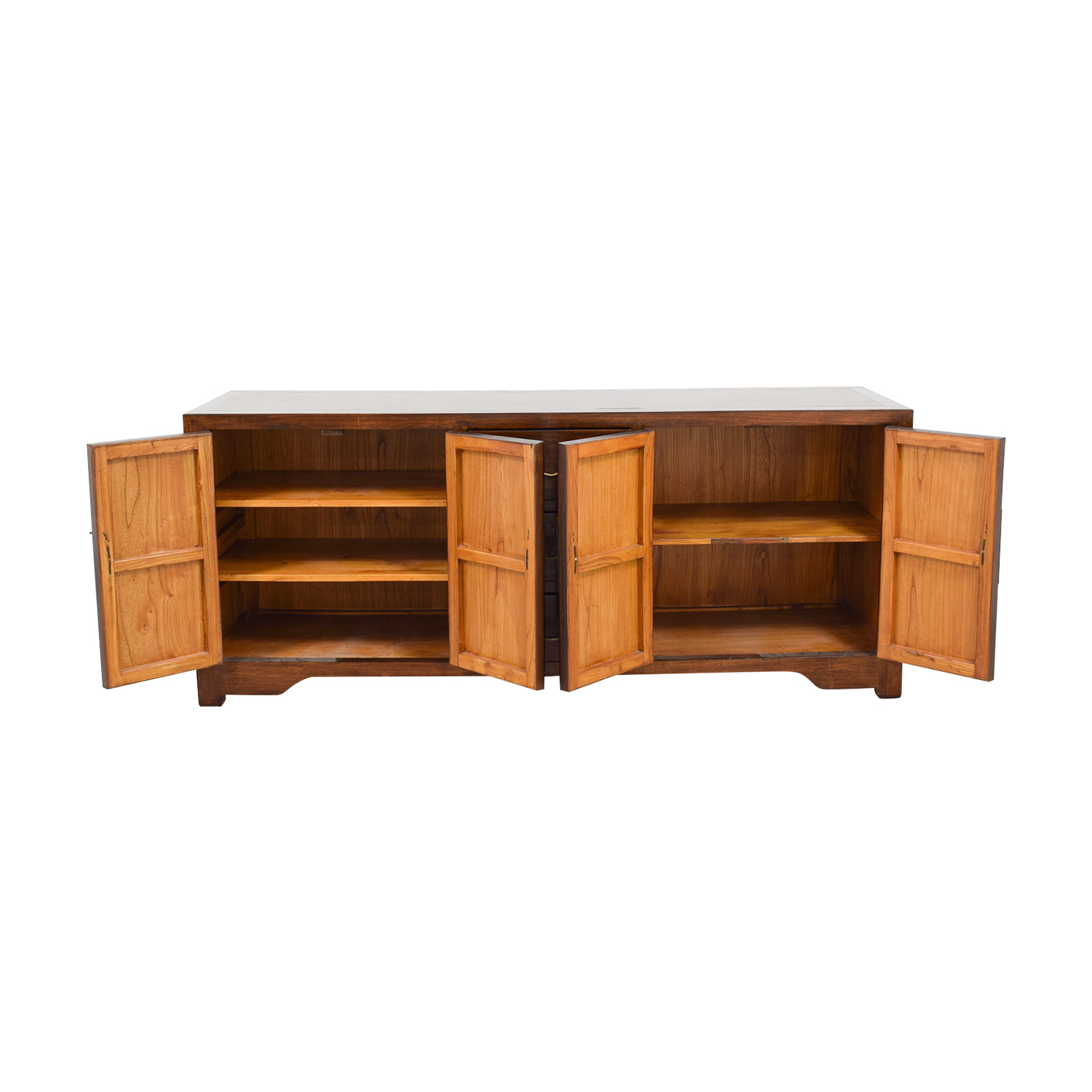 ABC Carpet and Home ABC Carpet and Home Asian-Inspired Wood Credenza Cabinets & Sideboards
