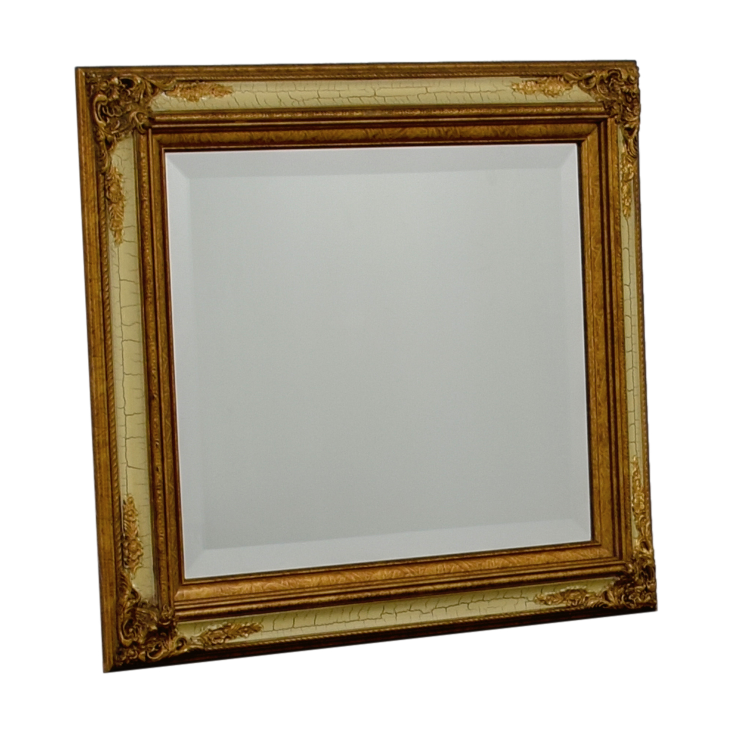 Art & Picture Store Art & Picture Store Vintage Gold Framed Mirror on sale
