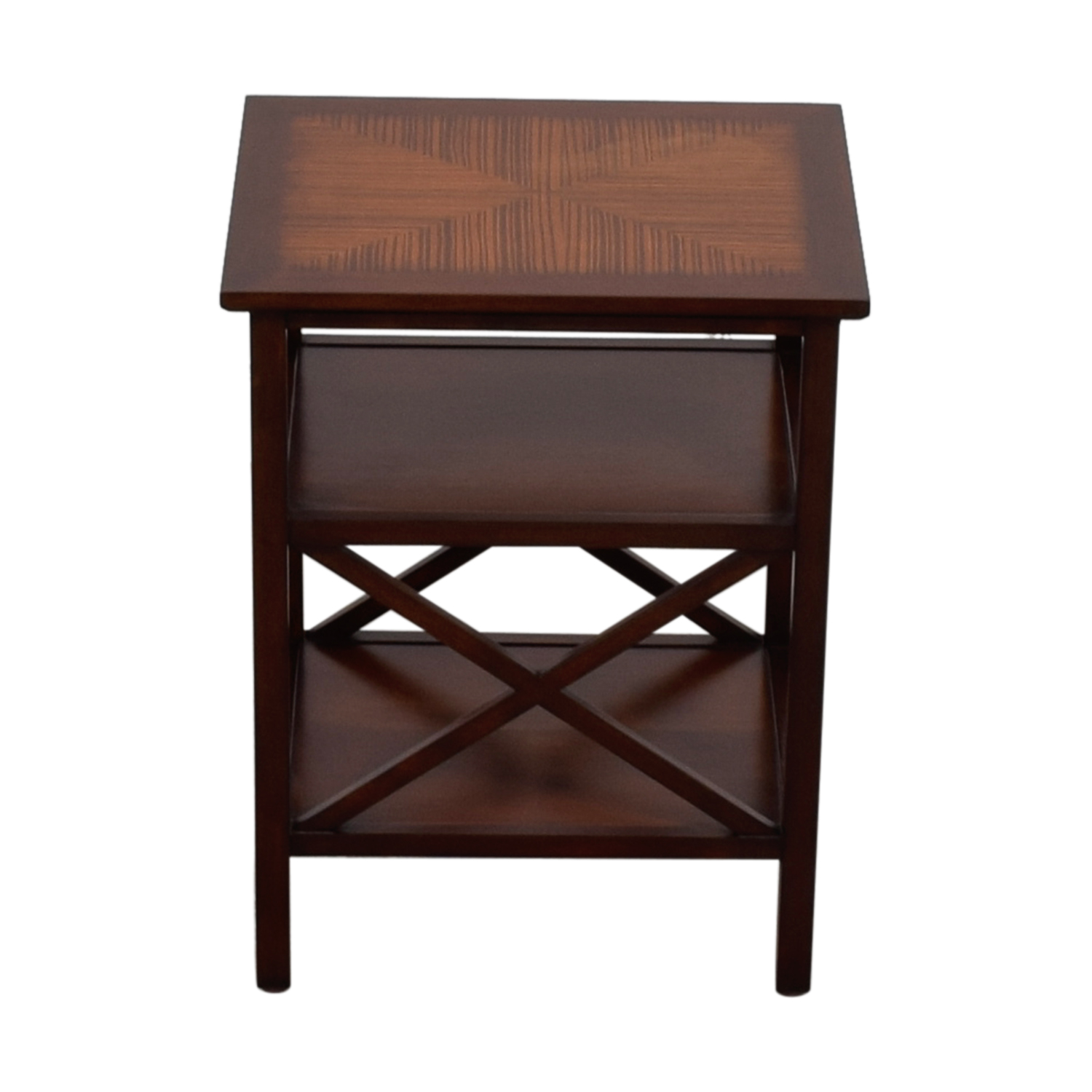 shop Ethan Allen Square End Table Ethan Allen
