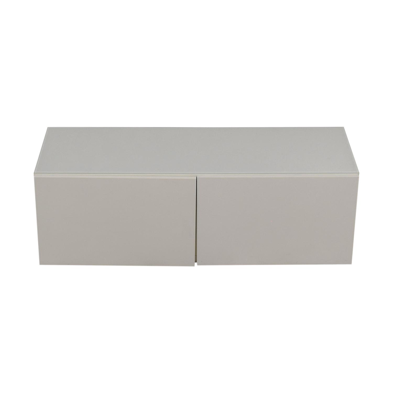 OFF IKEA IKEA Besta TV Unit Storage - Besta coffee table