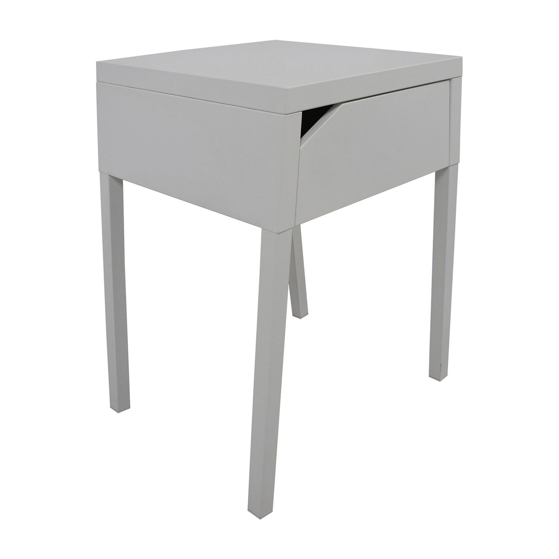 48 Off Ikea Ikea Selje White Nightstand Tables